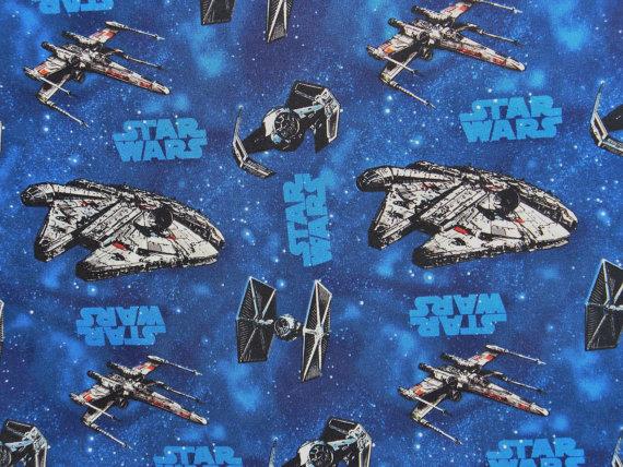 Star wars fabric on etsy mffanrodders 39 s blog for Star wars fabric