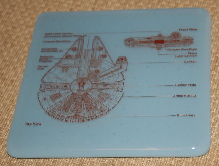 Coaster Millennium Falcon