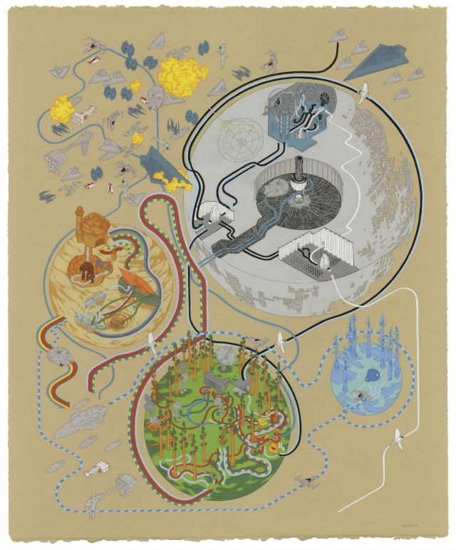 Andrew DeGraff Return of the Jedi