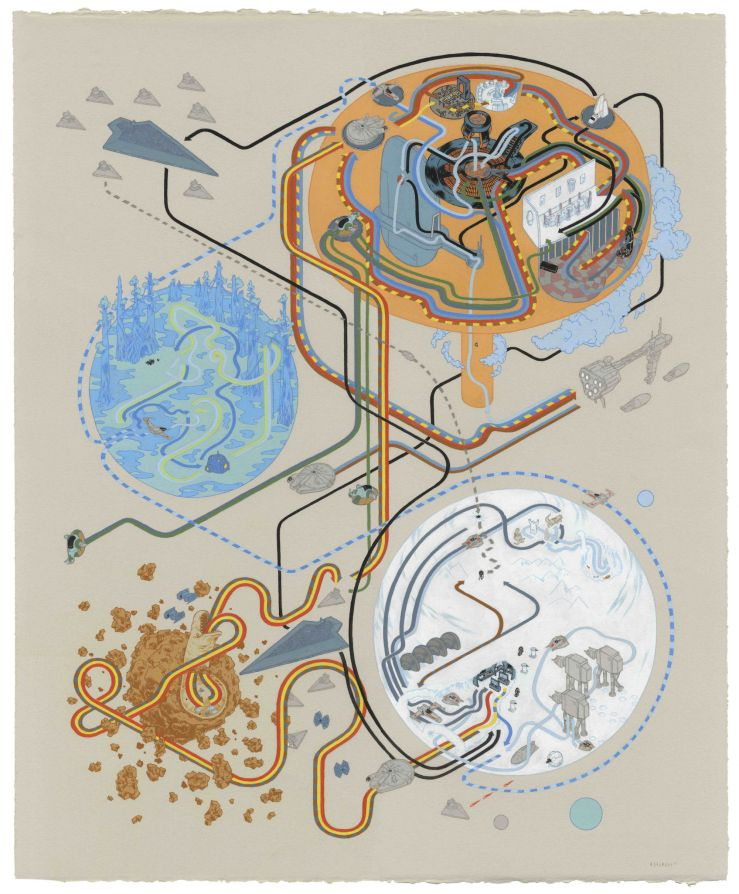 Andrew DeGraff The Empire Strikes Back
