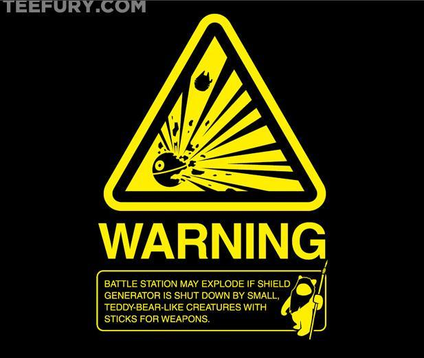 Empire Warning Label by Ryan Astle