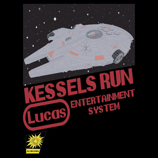 Kessel Run by Speechbubble