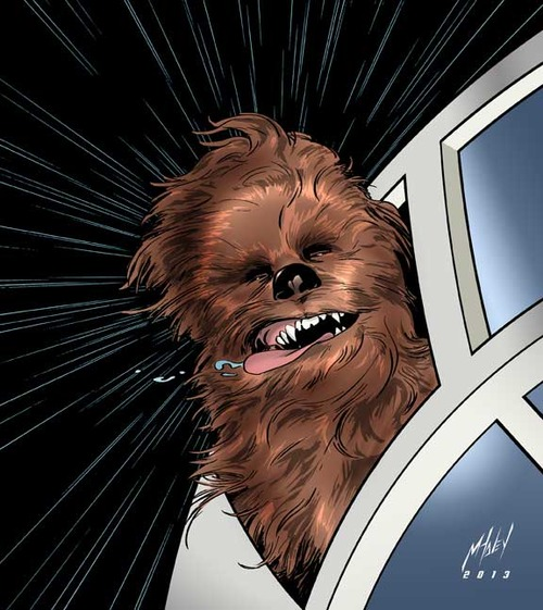 Wookieeeeeeee by Matt Haley
