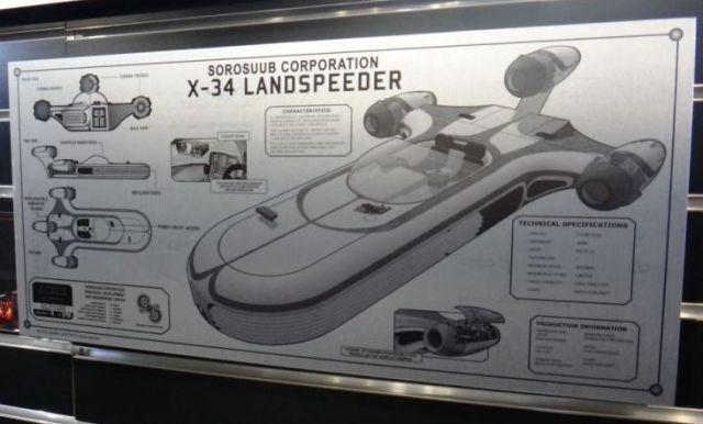 Tech Plate Landspeeder