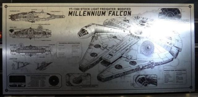 Tech Plate Millennium Falcon