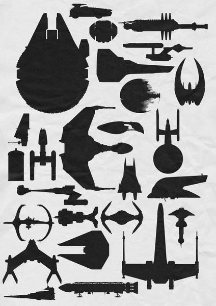 Famous Scit Fi Ships