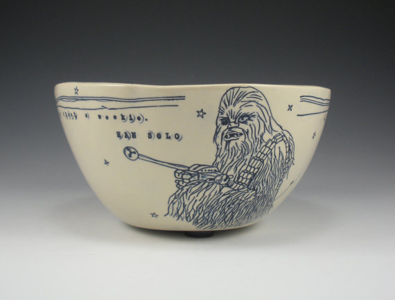 Bowl Chewbacca