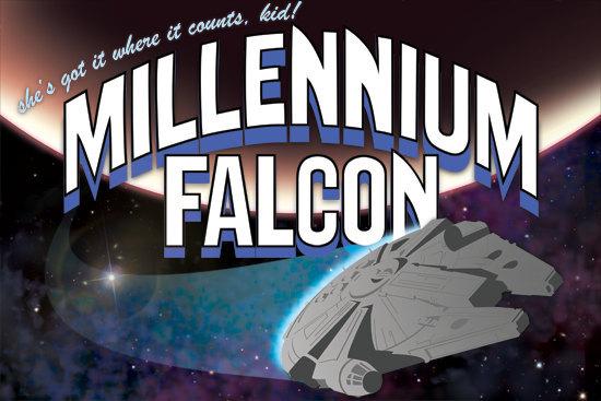 AnieMiles Millennium Falcon