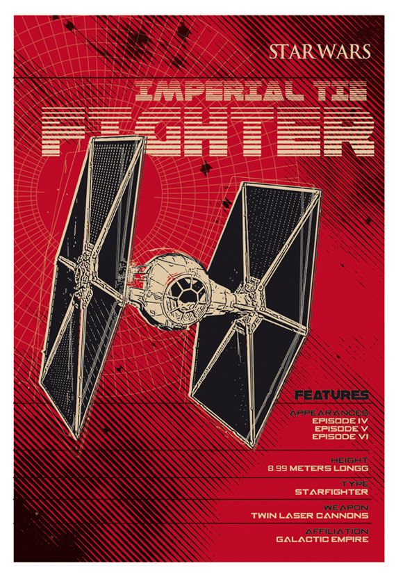 2 Toast Design Tie Fighter