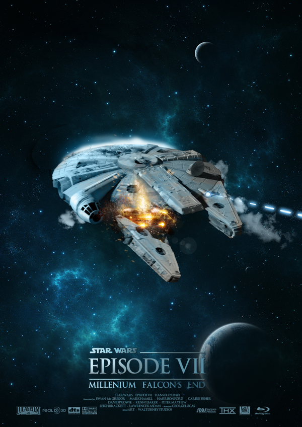 Millennium Falcons end