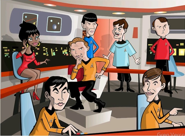 Star Trek by Greg Vercoe