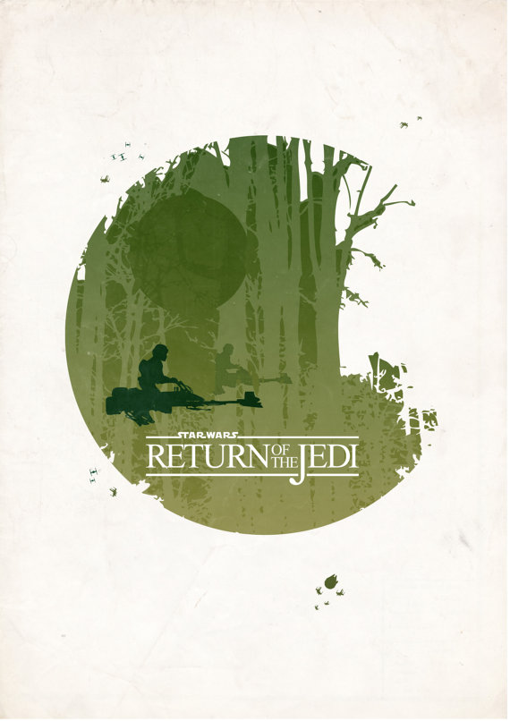 BGD Movie Posters Return of the Jedi