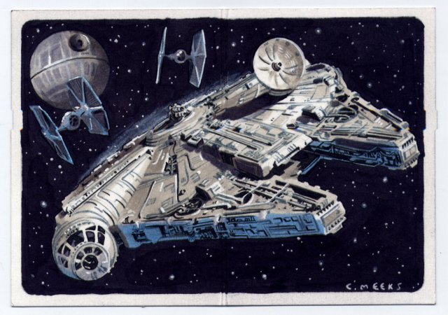 Chris Meeks Sketch Card