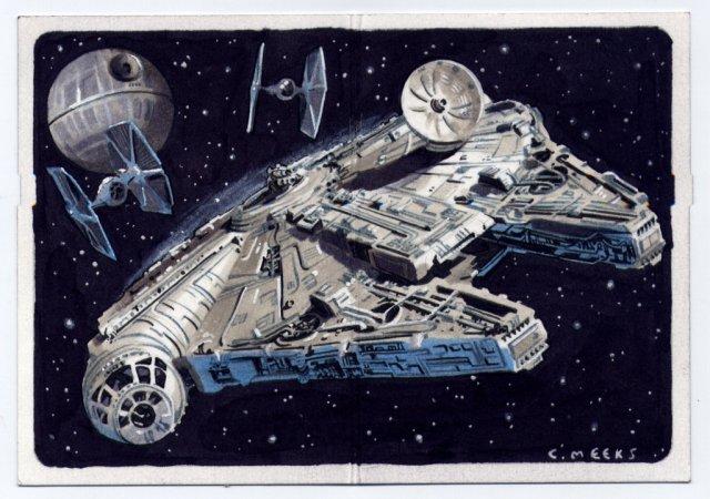 Chris Meeks Sketch Card