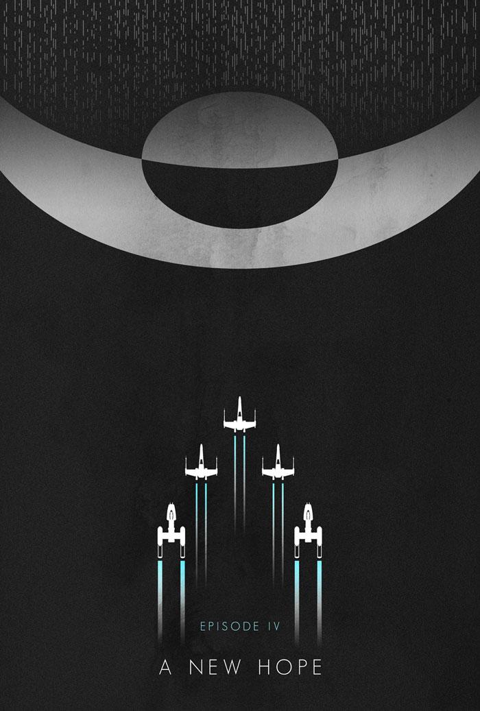 minimalist star wars posters by ed burczyk mffanrodders 39 s blog. Black Bedroom Furniture Sets. Home Design Ideas