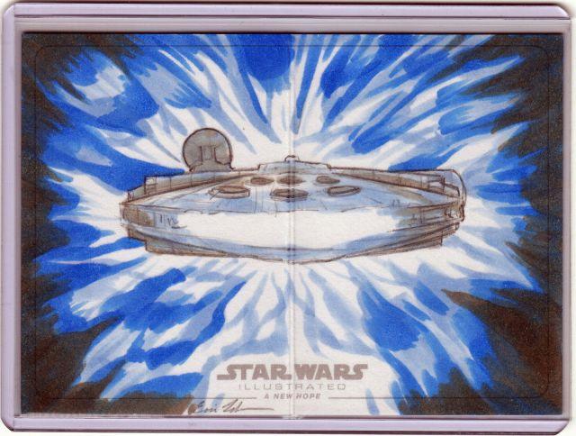 Eric Lehtonan Sketch Card front