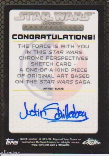 Topps Perspective JS Rear