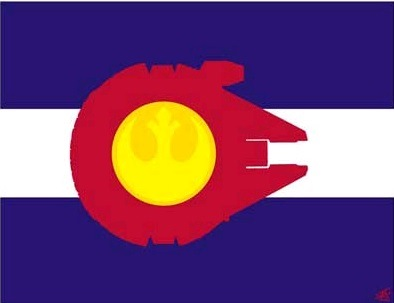 Sket One Rocky  Mountain Alliance Flag