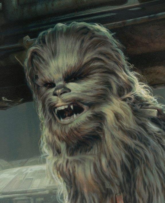 Vanderstelt close up Chewie