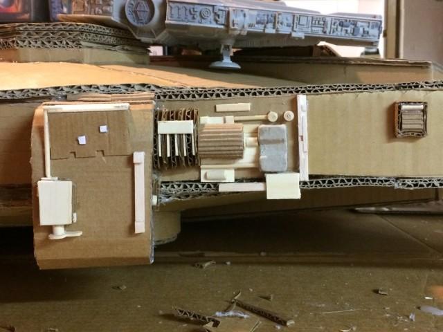 Cardboard Falcon 06