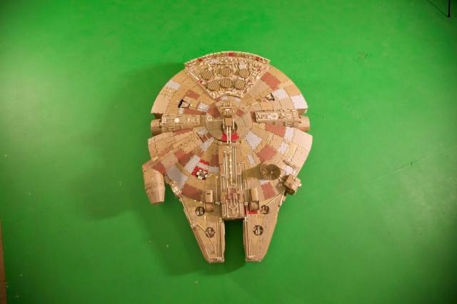 Cardboard Falcon 12
