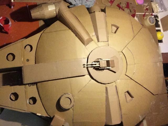 Cardboard Falcon 15