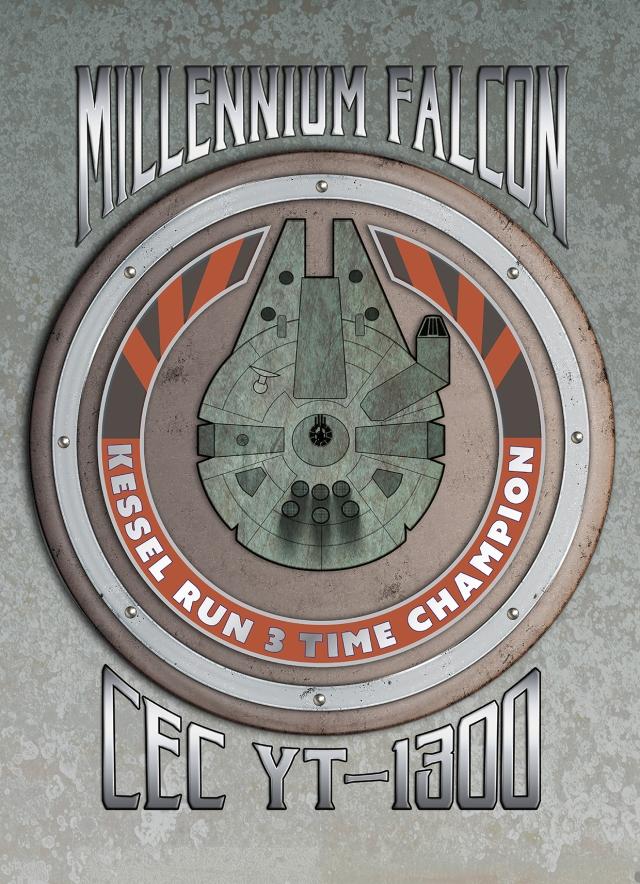 Millennium Falcon Kessel Run