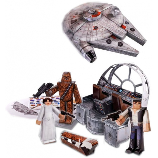 Papercraft-Figuren-Set-Millennium-Falcon-Vehicle-Pack-STAR-WARS.png