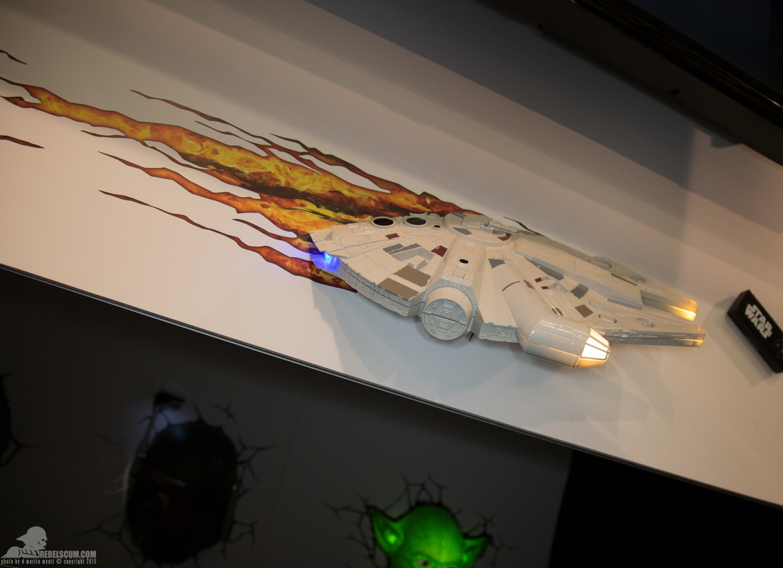 Millennium Falcon Wall Light From 3d Innovations