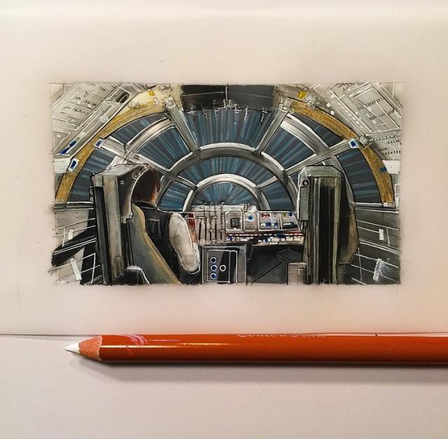 Jeremy Ennis Cockpit Series Millennium Falcon
