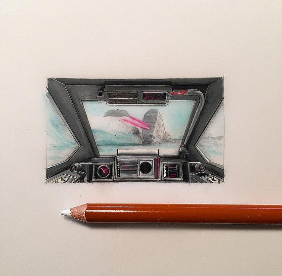 Jeremy Ennis Cockpit Series Snowspeeder