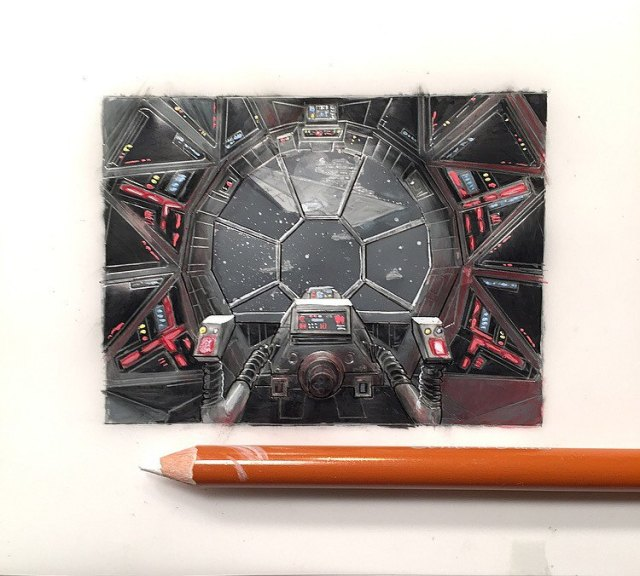 Jeremy Ennis Cockpit Series Tie Fighter