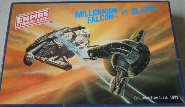 Tsukuda Millennium Falcon and Slave 1 1