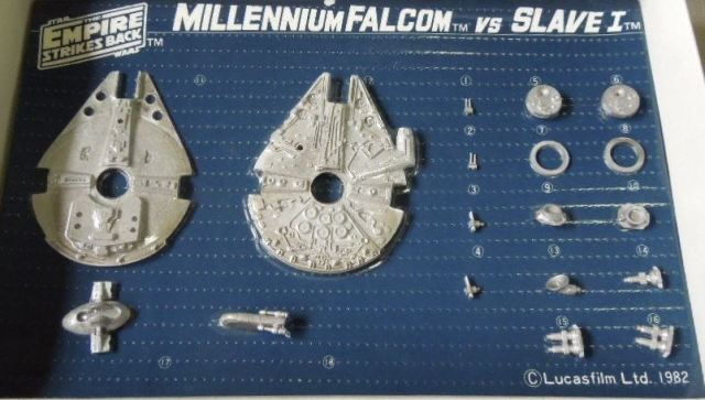 Tsukuda Millennium Falcon and Slave 1 2