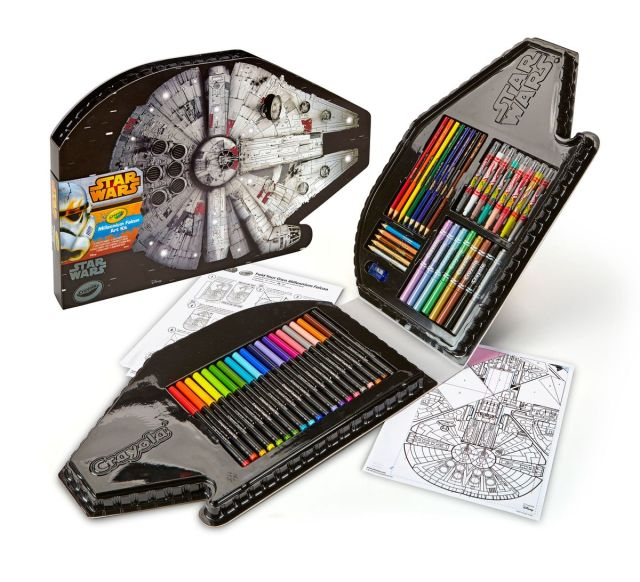 Crayola Millennium Falcon Art Kit 1