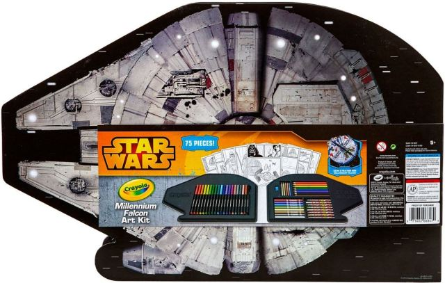 Crayola Millennium Falcon Art Kit 2