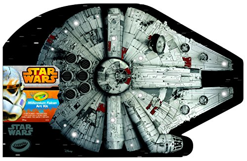 Crayola Millennium Falcon Art Kit
