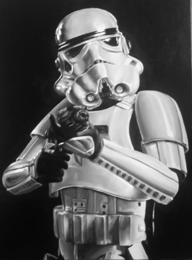 David Hardy Stormtrooper