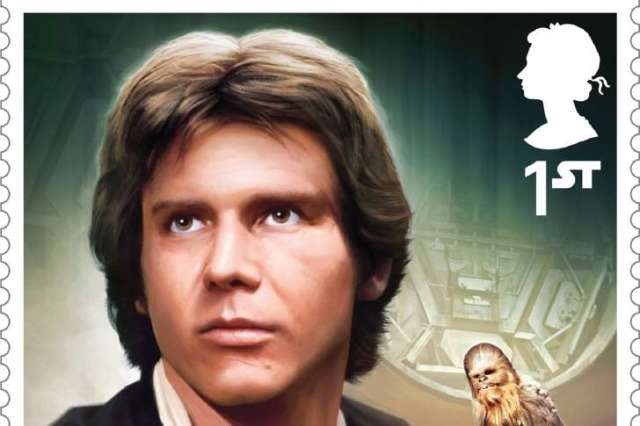 Star Wars Stamp Han Solo