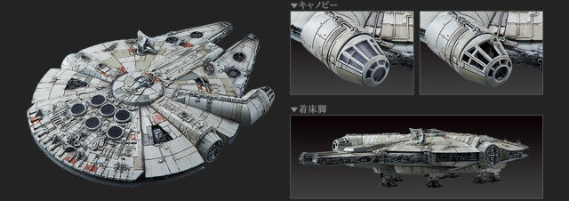 Bandai-Force-Awakens-Model-Kit-Millennium-Falcon-2