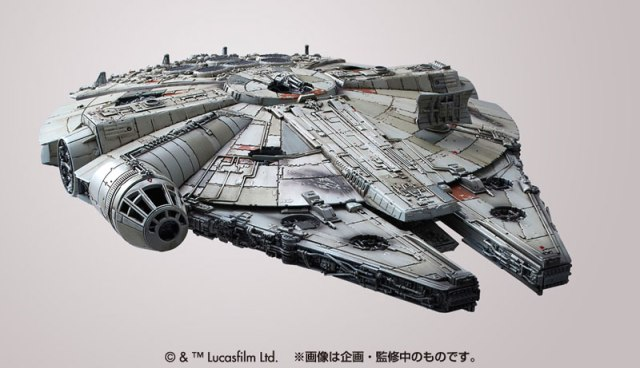 Bandai-Force-Awakens-Model-Kit-Millennium-Falcon-4