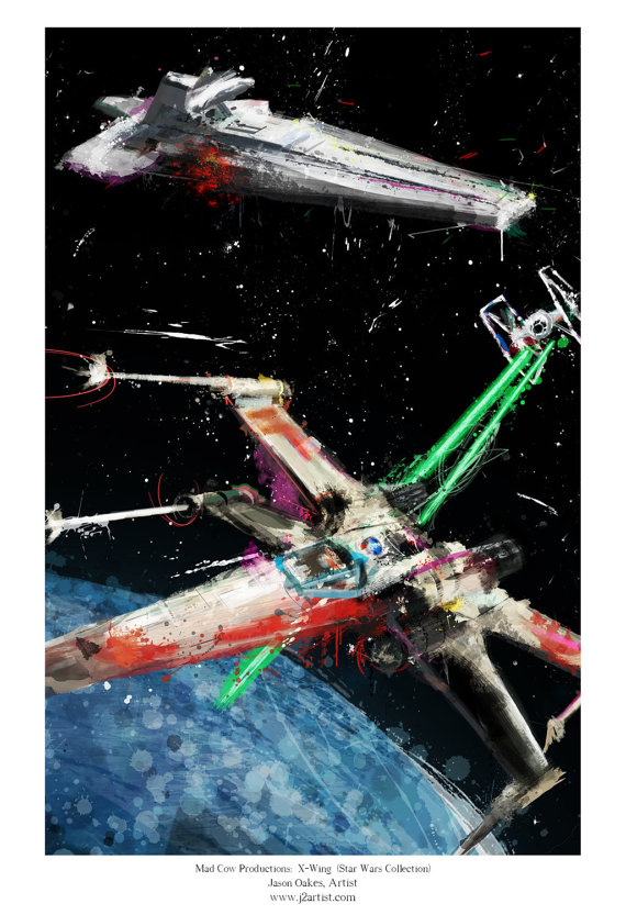 J2Artist X Wing Battle