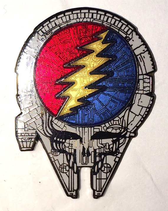 Steal Your Face Hat Pin