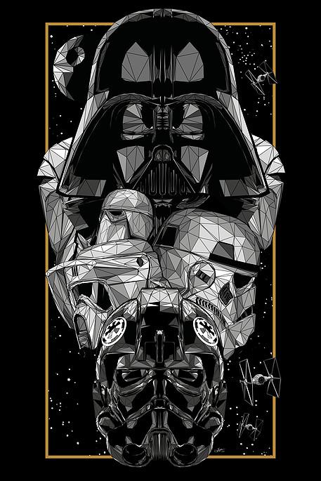 Dark Side Helmets by Simon Delart