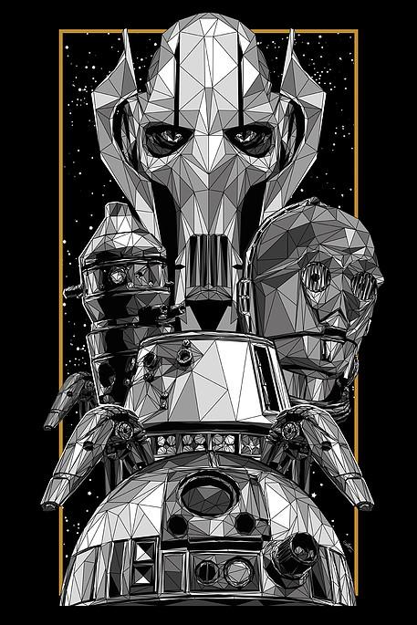 Droids and Robots by Simon Delart