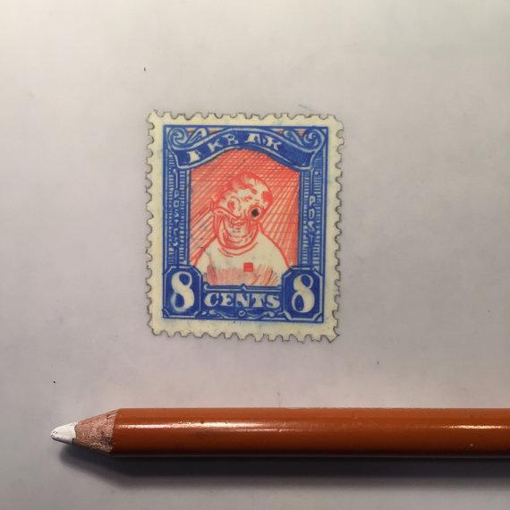 Jeremy Ennis Admiral Ackbar Stamp