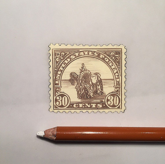 Jeremy Ennis Bantha Stamp