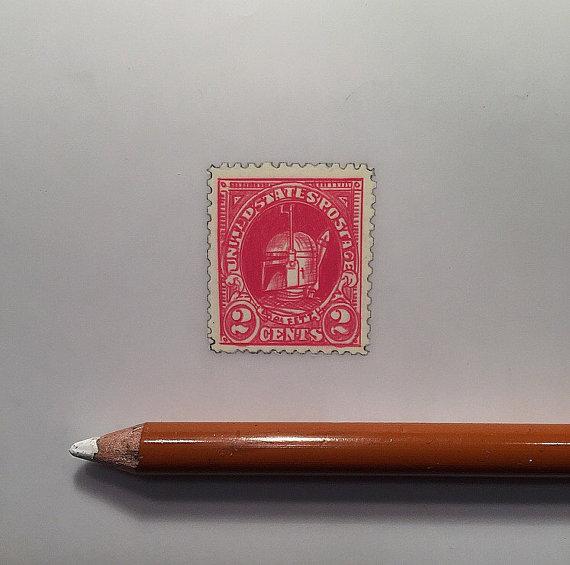 Jeremy Ennis Boba Fett Stamp