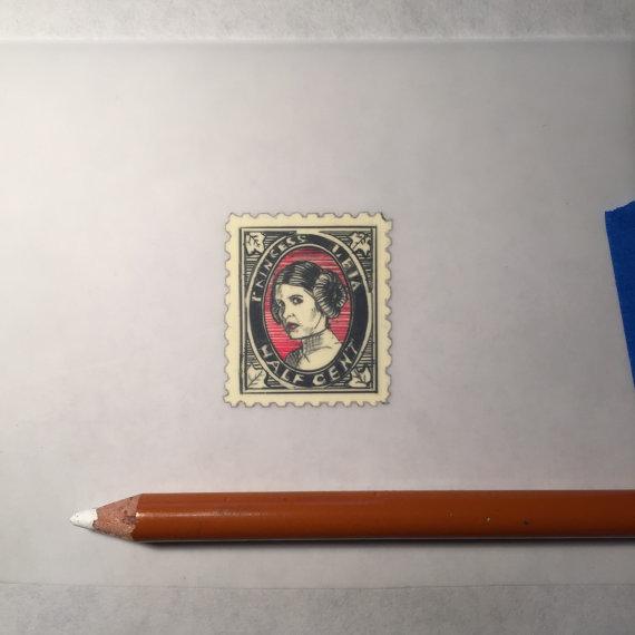 Jeremy Ennis Leia Stamp