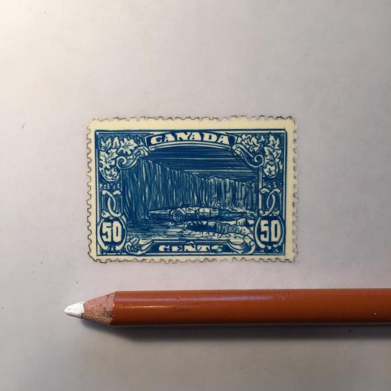 Jeremy Ennis Millennium Falcon Stamp